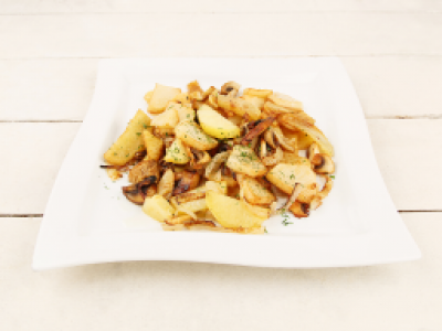 заказать: Основные блюда - Картофель жареный с грибами