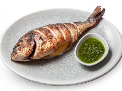 заказать: Основные блюда - Дорадо с соусом Песто