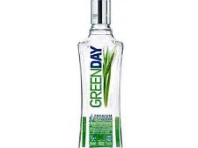 заказать: Крепкий алкоголь - водка Green Day Organic