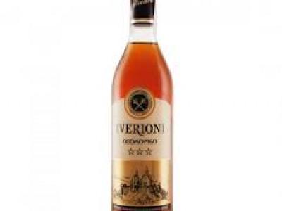 заказать: Крепкий алкоголь - коньяк Iverioni 3*