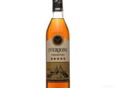 заказать: Крепкий алкоголь - коньяк Iverioni 5*