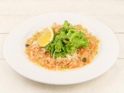 заказать: Холодные закуски - Карпаччо из лосося