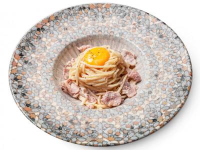 заказать: Паста - спагетти Карбонара